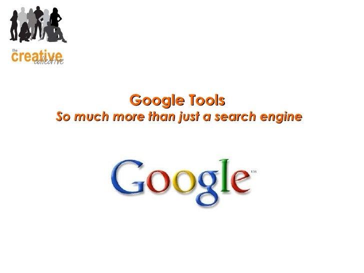 Webwed Google Tools