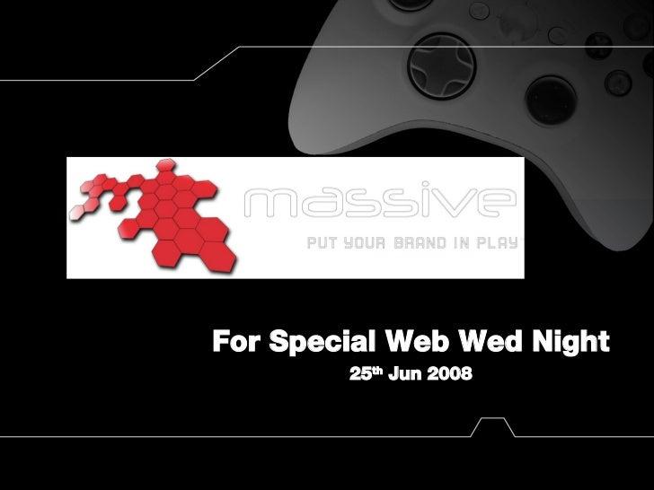 Web Wed Massive
