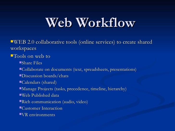 Web Workflow