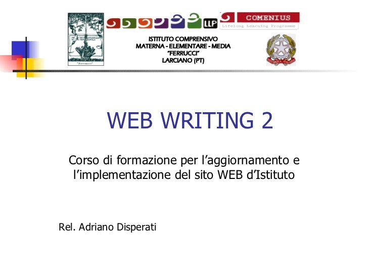 Web writing 2