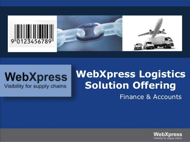 Webxpress solutions finance.ppt