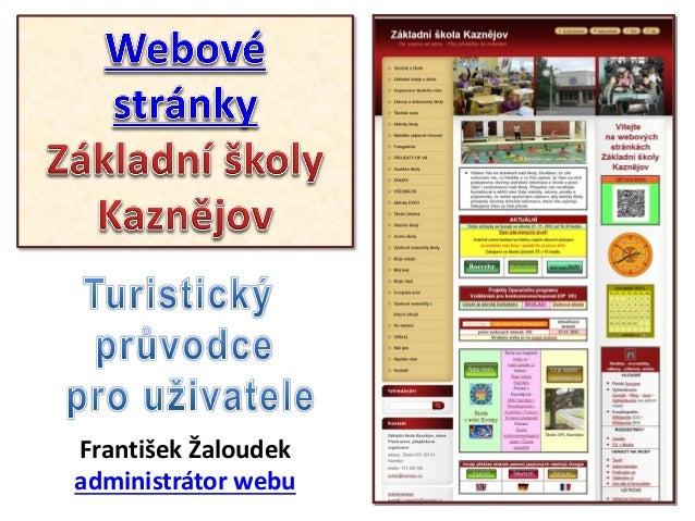Web ZšK - orientace