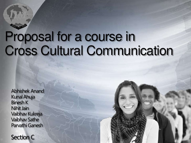 Cross Culture Course Proposal at IIML