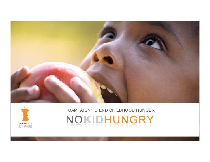 CAMPAIGN TO END CHILDHOOD HUNGER