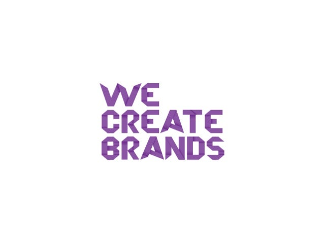 Hello. Are you looking for a competitive edge for your business? We Create Brands is an integrated branding, digital and g...
