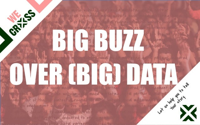 Big Buz over (Big) Data