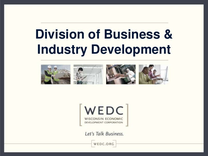 Division of Business &Industry Development