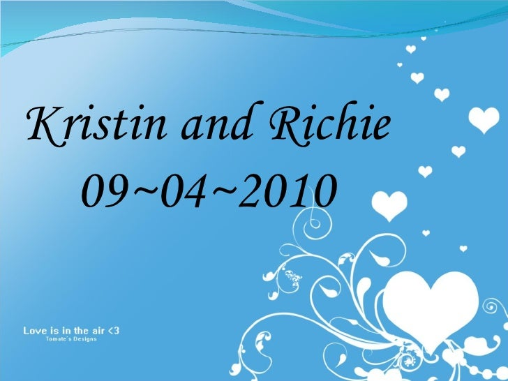 Kristin and Richie 09~04~2010