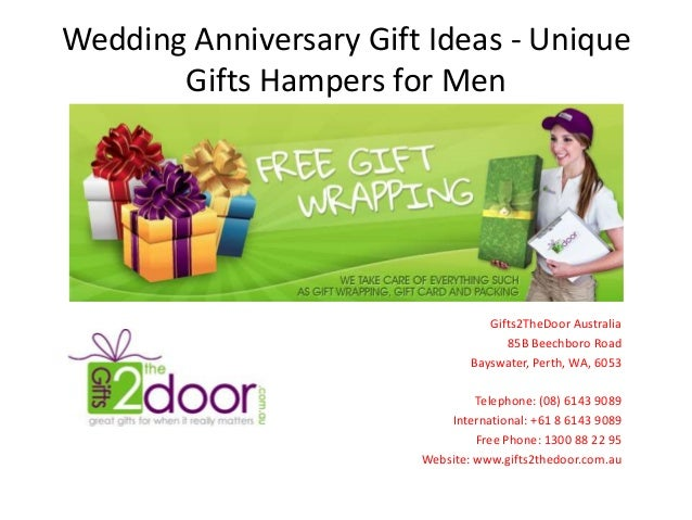 Wedding Anniversary Gift Ideas - Unique Gifts Hampers for Men ...