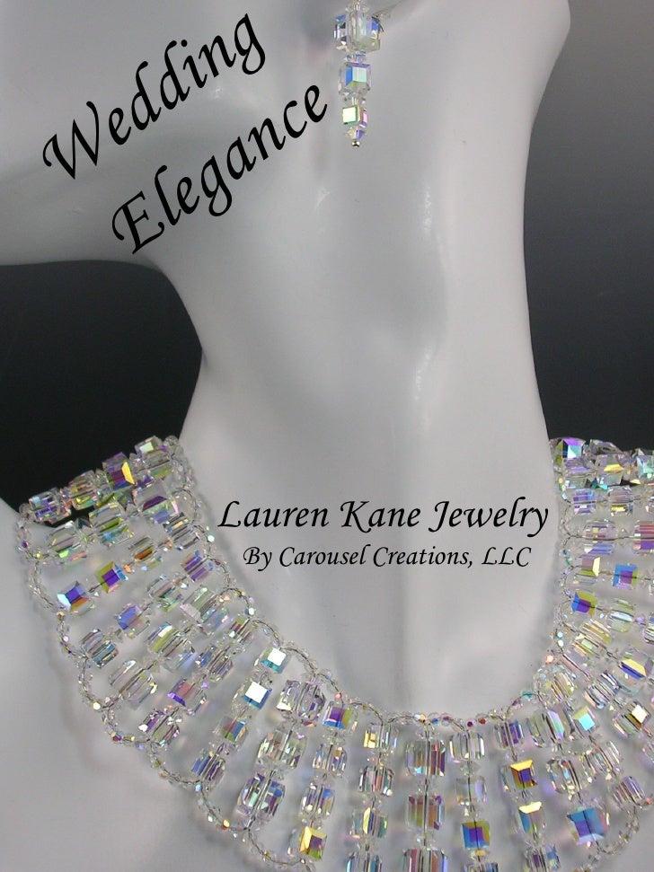 Wedding Jewelry Catalog