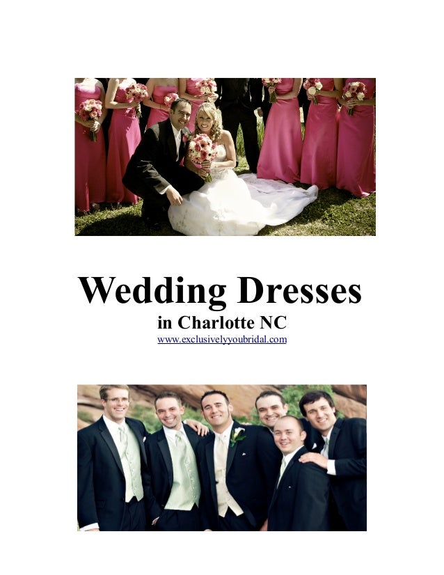 Wedding Dresses in Charlotte NC www.exclusivelyyoubridal.com