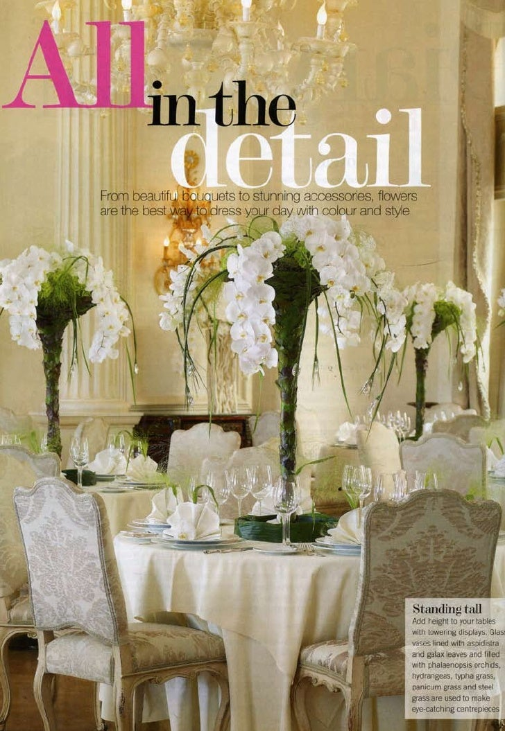 Article about Wedding Stories book in Wedding Flowers UK Magazine