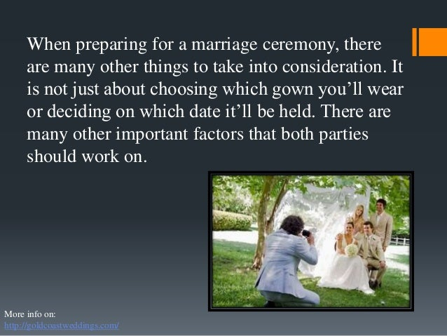 How To Be Prepared For Marriage