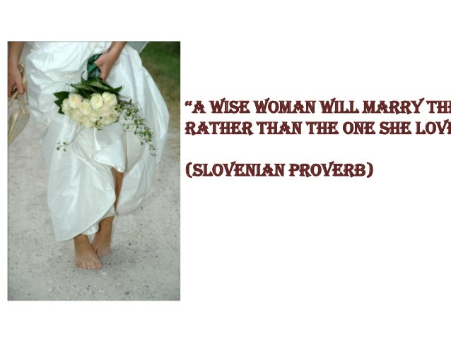 African proverb wedding