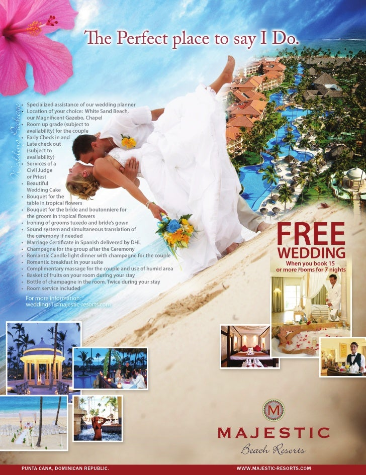 Weddings majestic resorts