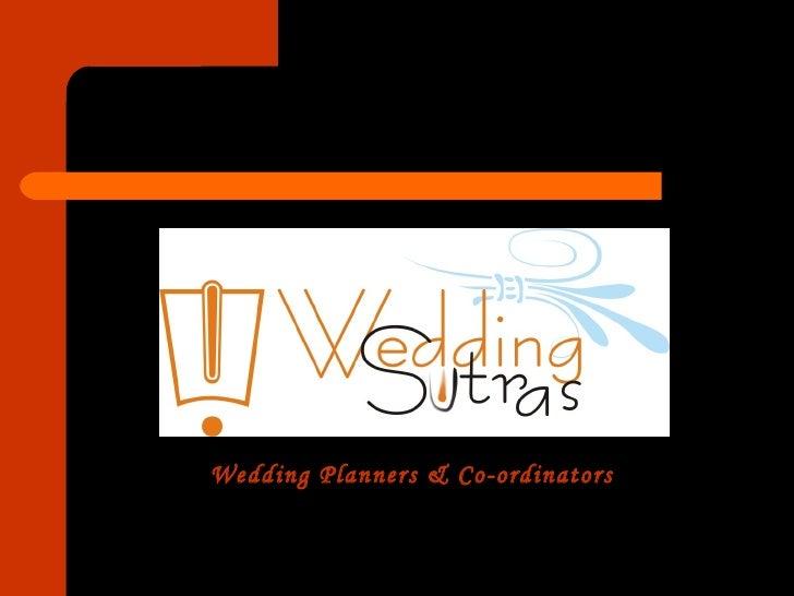 Wedding Planners & Co-ordinators