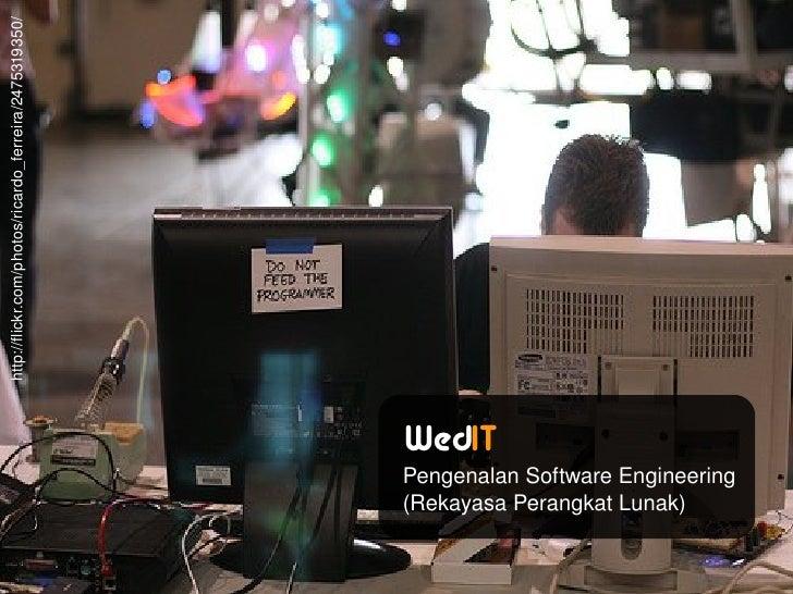 WedIT! 7: Pengenalan Software Engineering