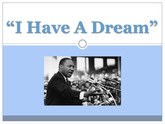 MLK I Have a Dream Powerpoint