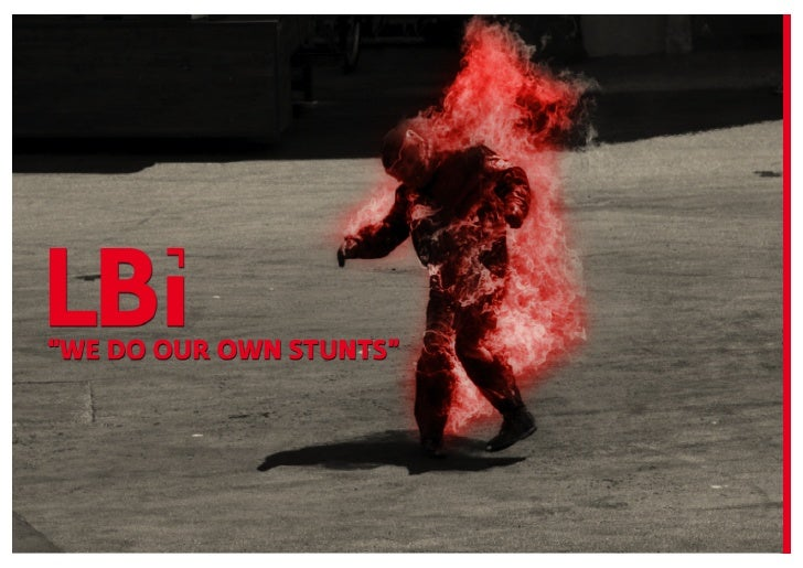 "LBI Nordic presents ""We do our own stunts"" aninternal series of events across the Nordic LBioffices.We will invite both inte..."