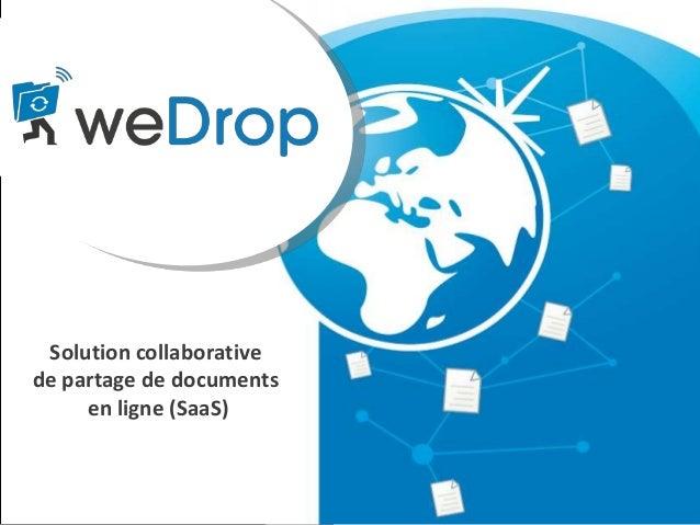Solution collaborative de partage de documents en ligne (SaaS)