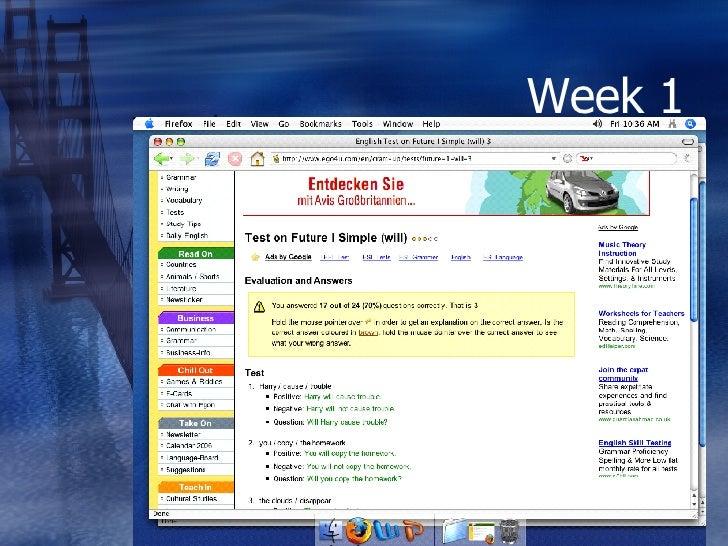 week 1 english