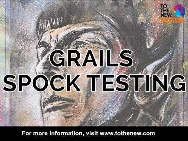 Grails Spock Testing | Intelligrape