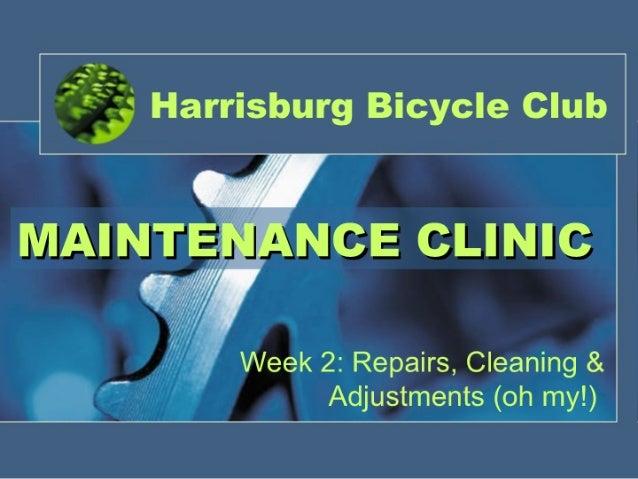 Week 2 Clinic