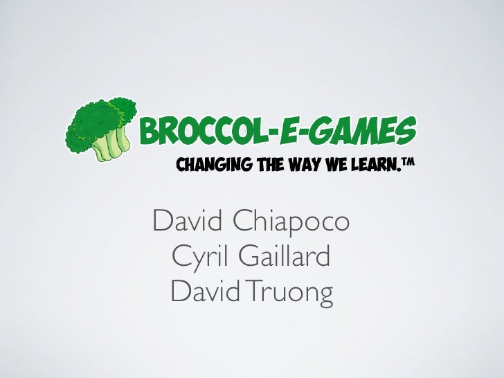 Broccol-e-games in AngelCube Week 02