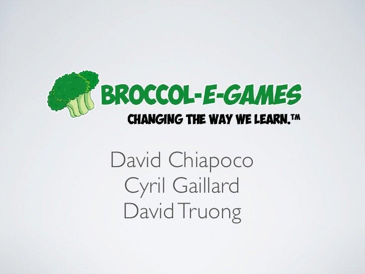 David Chiapoco Cyril Gaillard David Truong