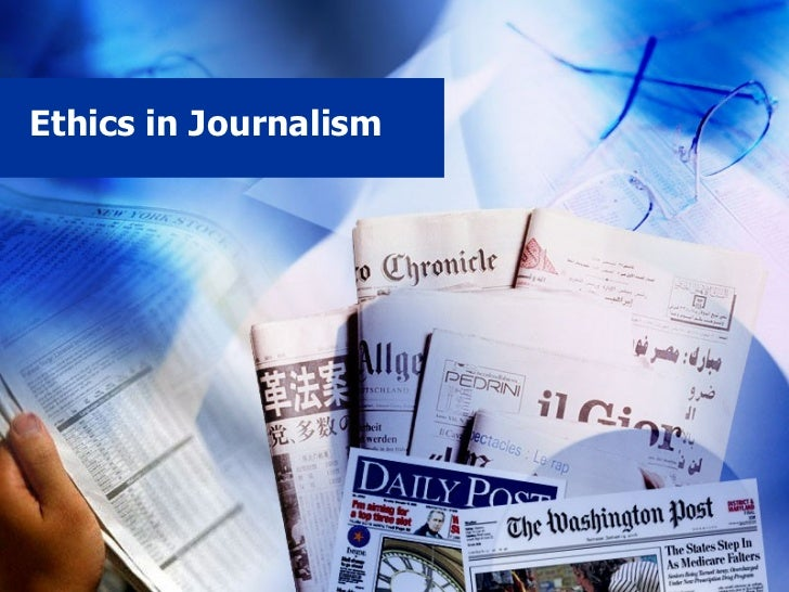 Ethics in Journalism
