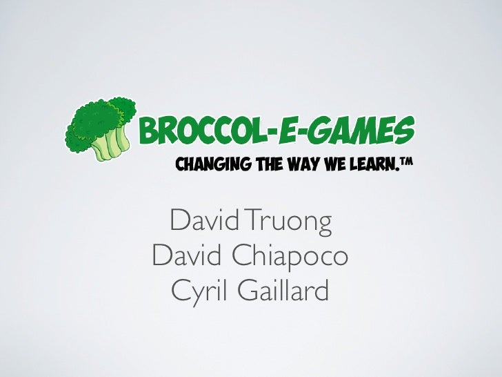 Broccol-e-games in AngelCube Week 03