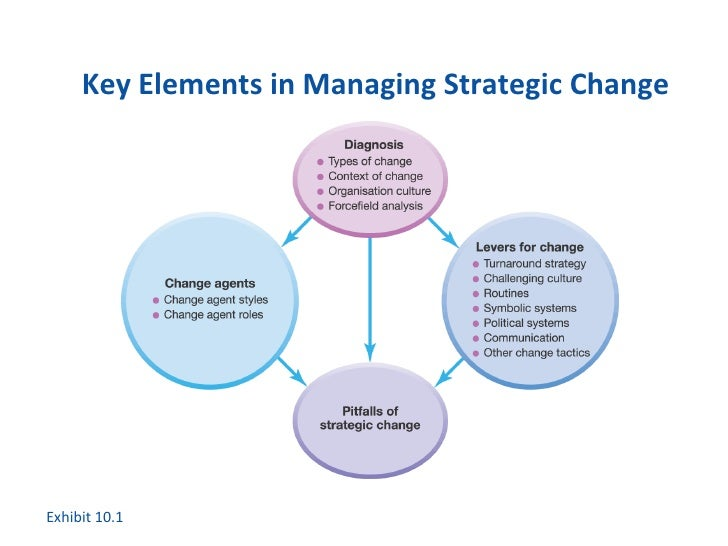 leadership and stratigic change in the
