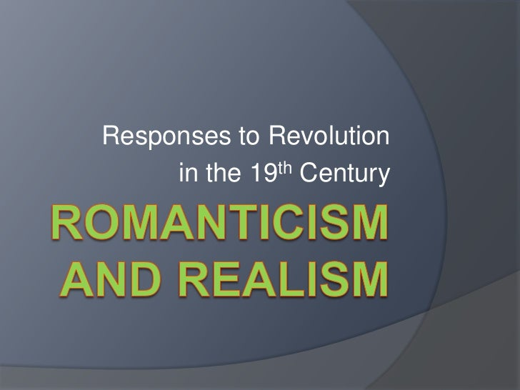 Responses to Revolution     in the 19th Century