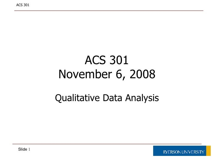 Qualitative Data Analysis<br />A practical how-to<br />