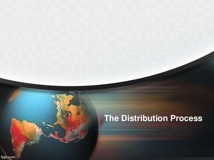 TSM 101  tourism sectors pt. 5- distribution