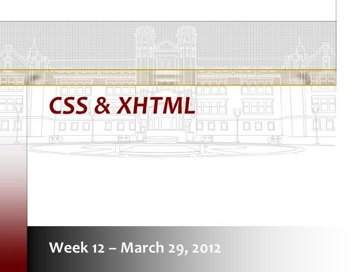 LIS3353 SP12 Week 12