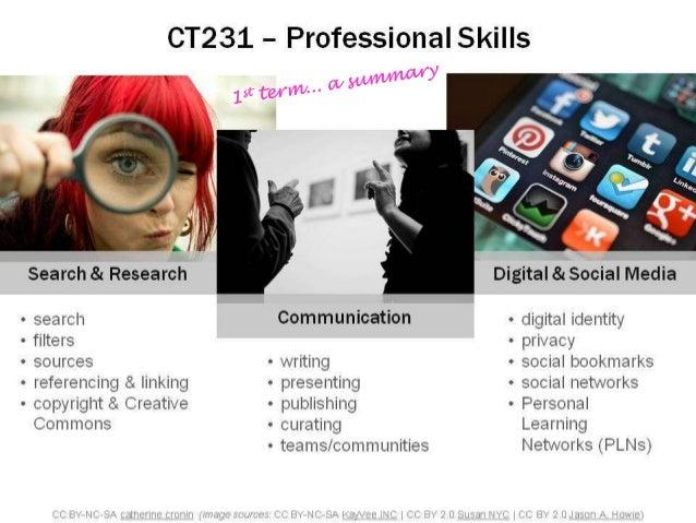 CT231 - summary of 1st term