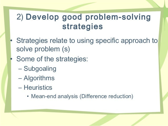 Unit 1 - Problem Solving
