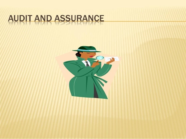 Week 1 audit  and assurance services