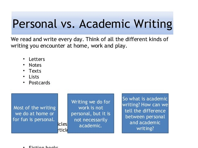difference between letter writing and essay writing
