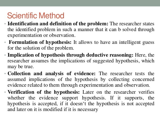 scientific method and the fundamentals of research The following paper will discuss the scientific method and the relationship to human services research the paper will discuss steps in the process of.