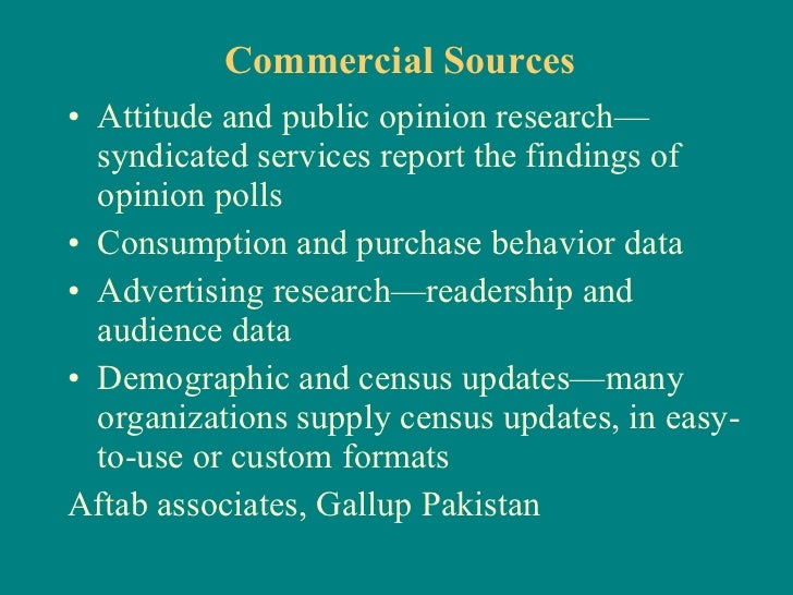 syndicated research definition