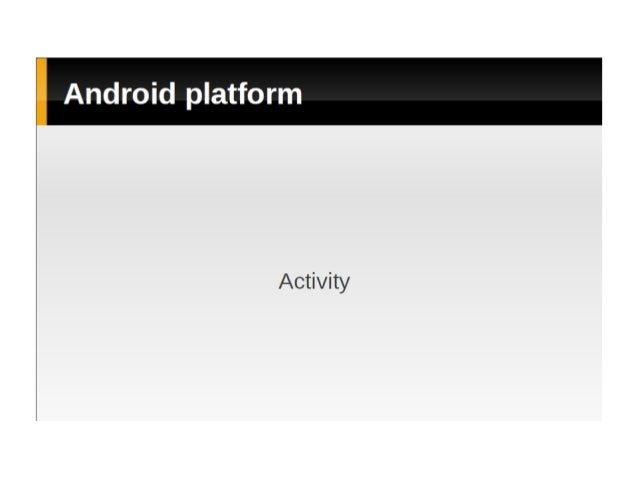 Android Training - Part 3
