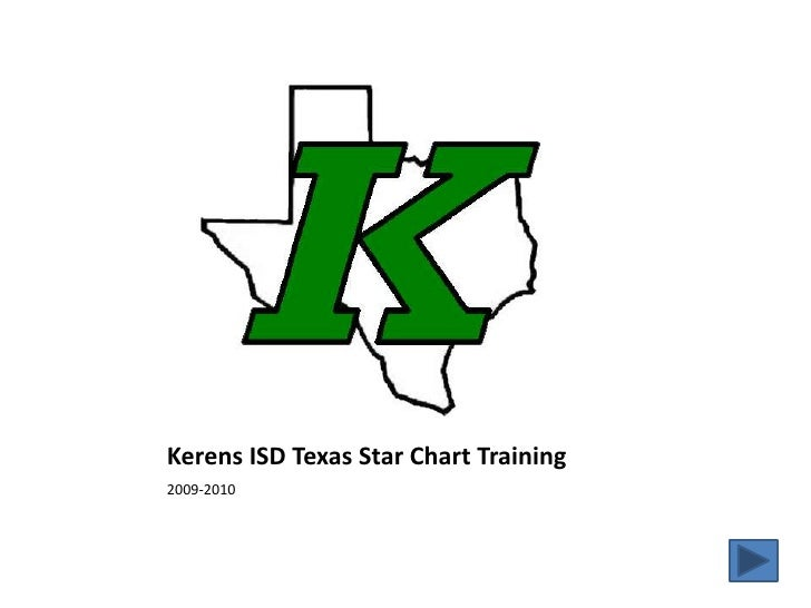 Kerens ISD Texas Star Chart Training<br />2009-2010<br />