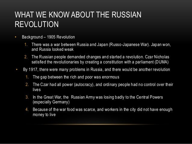 russian history 1905 revolution essay Free 1905 revolution papers 1917 russian revolution essay - russian revolution essay throughout history there have been many revolutions between the.