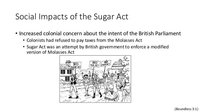 effects of the sugar revolution essay This paper will examine the specific causes and effects of the american revolution  an import tax on sugar coming into  american revolution essay 2359.