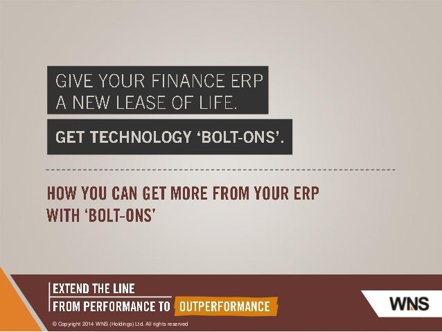 Give your Finance ERP A new Lease of Life