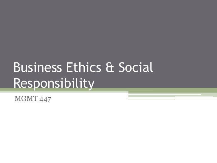 Organizational Ethics Week 4