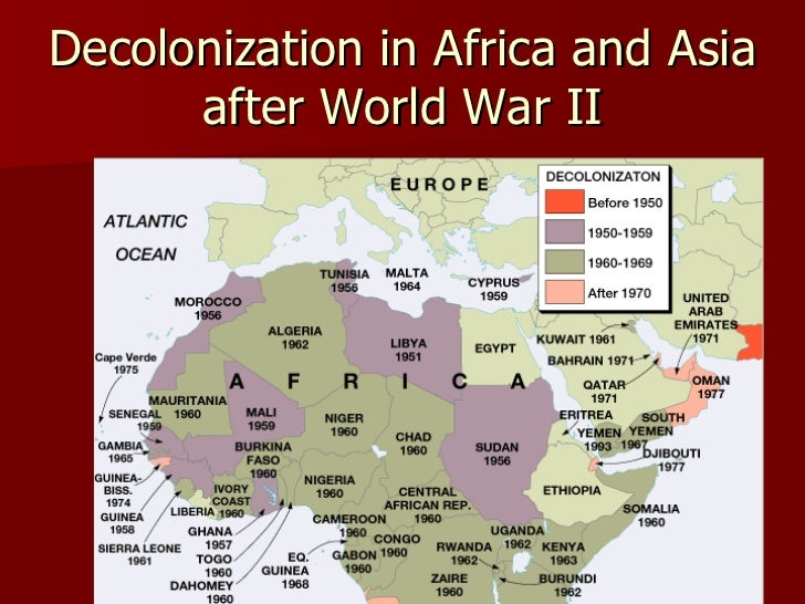 decolonisation of africa essay Was british decolonization after 1945 a voluntary process jonjo robb with this in mind, this essay will discuss the nature of decolonization that occurred.