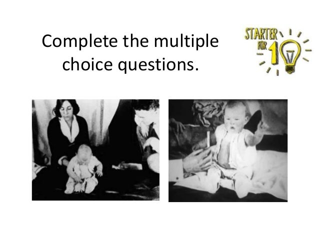 Complete the multiple choice questions.